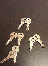 Schlüssel Beschriften