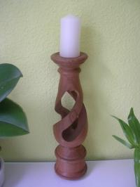 Kerzenständer kanneliert (ohne Kerze)