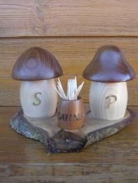 Pfeffer und Salzmühlen Set