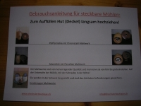 Pfeffermühle Pilz
